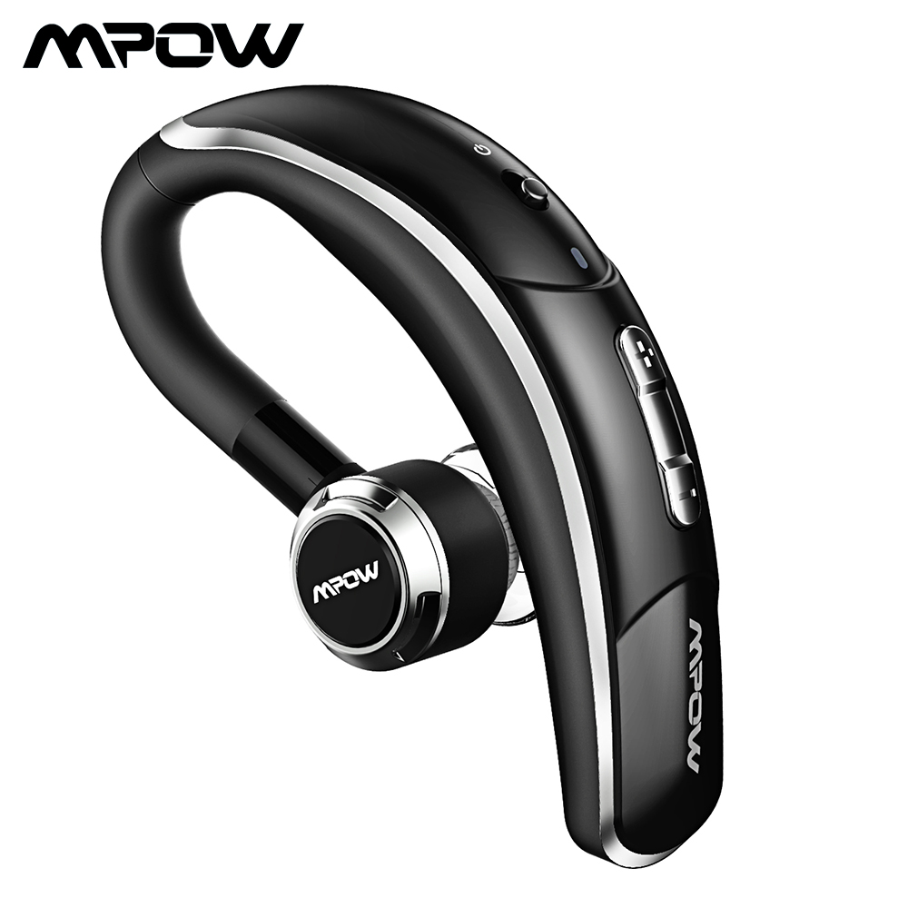Mpow BH028 Bluetooth 4.1 Earphone Single Wireless Headphone 280Hrs Standby Handsfree Bluetooth Earpiece With Mic For Business
