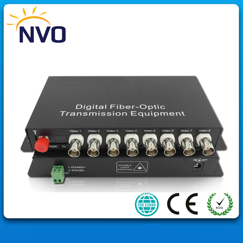 MM,16ch Vedio +Bi-directional RS485 Data ,2KM,FC,American Charger-Mini Type, CCTV Digital Video Optical Multiplexer