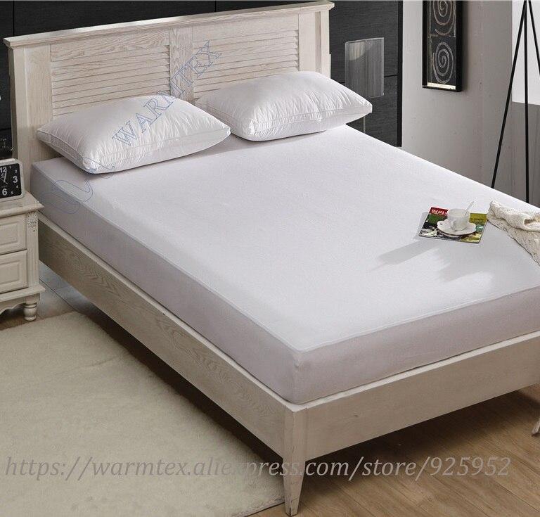 190x120cm high quality natural fabric Reversible Tencel Cotton cloth Mattress Protector/ Mattress Cover Waterproof A