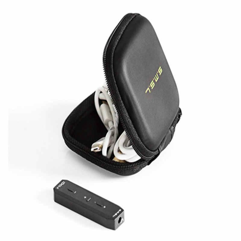 Wyprzedaż SMSL IDOL + przenośne Mini USB Audio DAC i wzmacniacz słuchawkowy Mirco USB DAC wsparcie OTG 24bit/192KHZ czarny srebrny