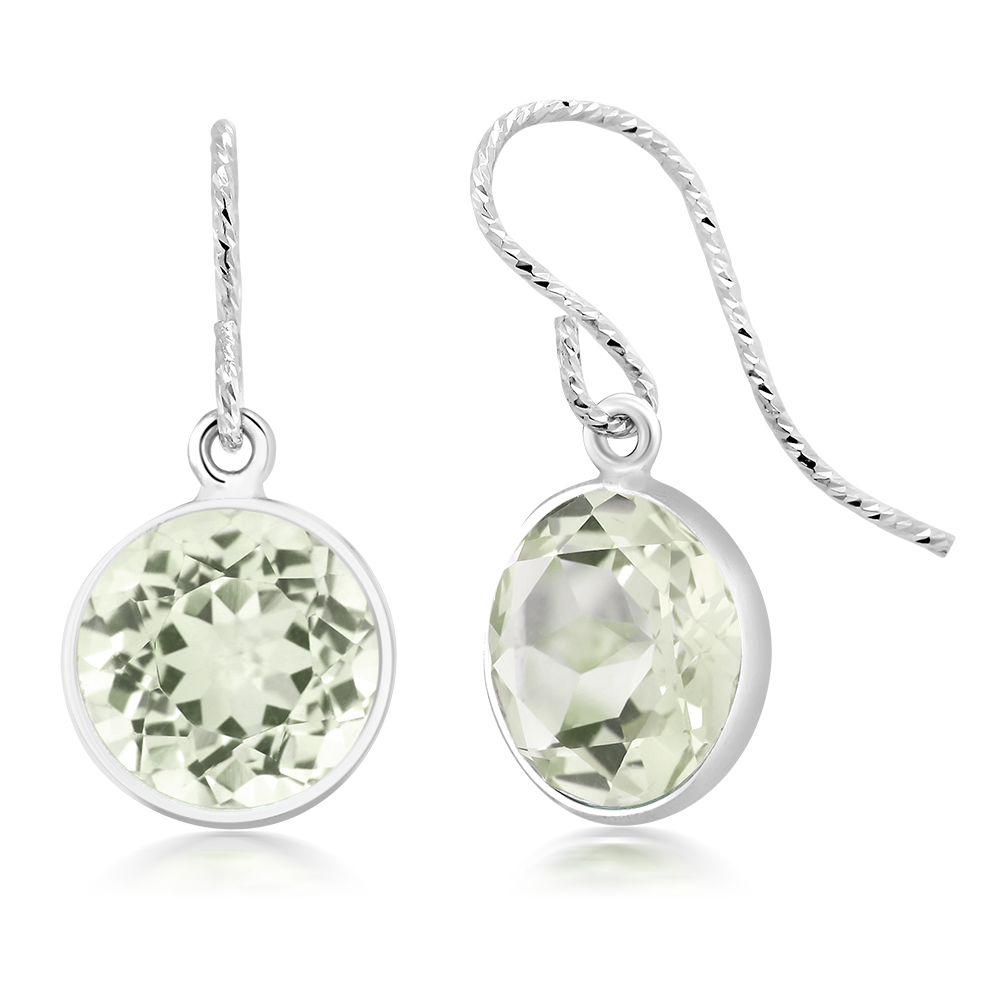 parsiolite sivalya sterling prasiolite products in silver amethyst earrings green