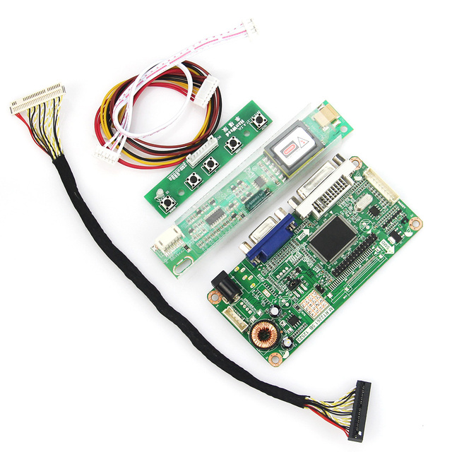 VGA + DVI Для B154EW01 LTN154X3-L06 М. RT2261 М. RT2281 LCD/LED Контроллер Драйвер Доска 1280 х 800 LVDS Монитор Повторное Ноутбук