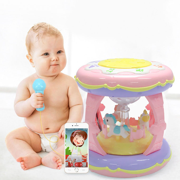 Cute Children Toys CARP Educational Enlightenment Double-sided New Musical Exquisite TALE Baby Instrument 5