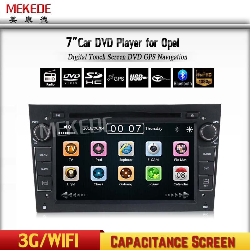 Capacitive Screen 2 Din 7 Inch Car DVD Player For Vauxhall/Opel/Antara/VECTRA/ZAFIRA/Astra H G J Canbus FM GPS BT 1080P Ipod Map