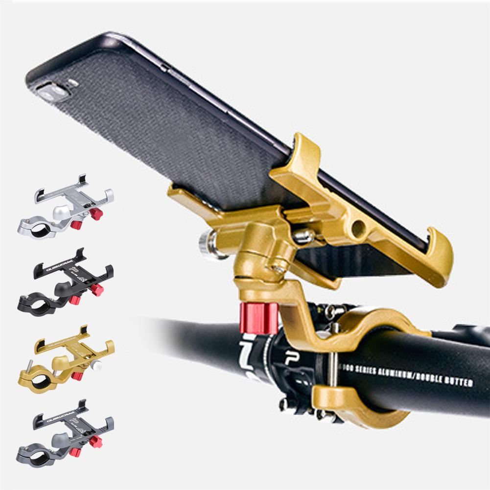 Aluminum Alloy <font><b>Bike</b></font> Mobile <font><b>Phone</b></font> <font><b>Holder</b></font> Adjustable Bicycle <font><b>Phone</b></font> <font><b>Holder</b></font> Non-slip MTB <font><b>Phone</b></font> Stand Cycling Accessories image