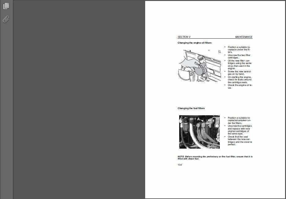 deutz fahr ag service manual 06 2007 in software from