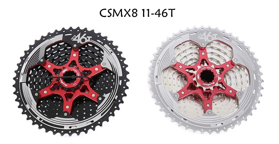 Shimano XT M8000 4 unids bicicletas bicicleta mtb 11 velocidad de grupo RD-M8000 palanca con SunRace cassette K7 KMC cadena 11-46 T 11-50 t - 4