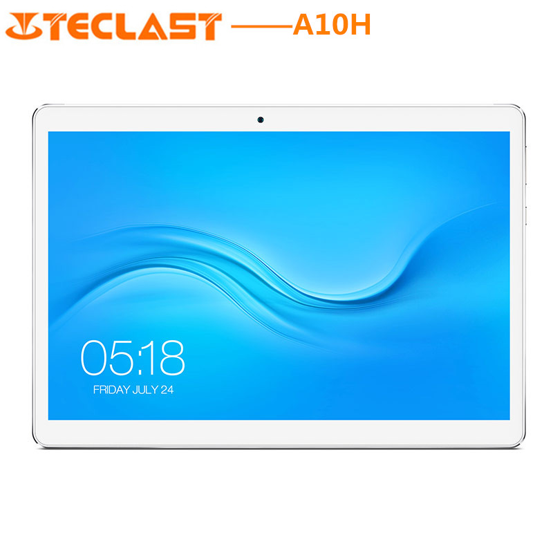 2018 NEW Teclast A10H Tablet PC 10.1 Inch Android 7.0 MTK8163 Quad Core 1.3GHz 2GB RAM 16GB ROM Computer Dual Cameras Bluetooth teclast p80 pro tablet pc 8 0 inch android 7 0 mtk8163 quad core 1 3ghz 2gb ram 16gb emmc rom double cameras dual wifi hdmi