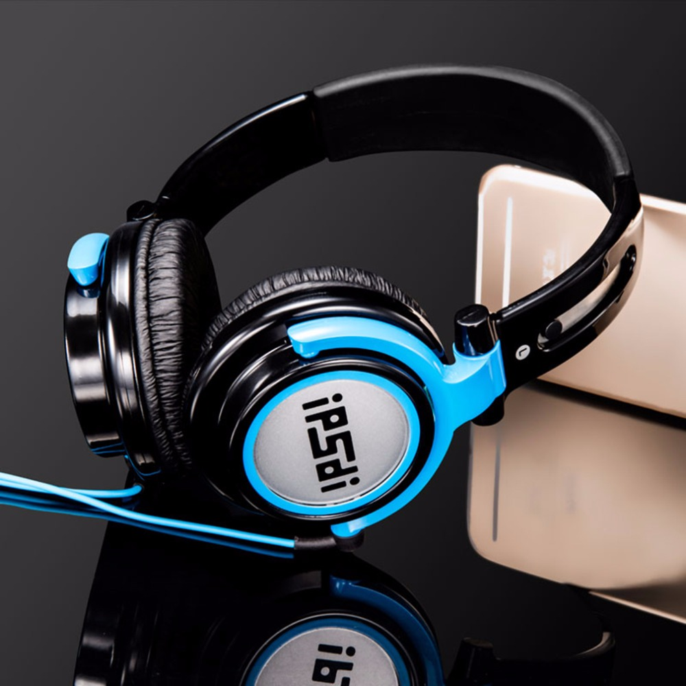 IPSDI EP1205 Professional Computer PC Headphone Comfortable Wear Foldable Game Gaming Headphones For PC