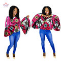 Африканских Женщин Clothing Dashikis African Clothing for Women другие Вершины плюс размер african clothing африканских женщин топ ни WY1505