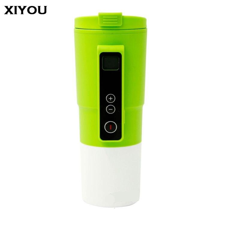 ̀ •́ XIYOU Acero inoxidable diez minutos rápida taza calefacción ...