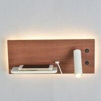 Zerouno applique 5V chargeur sans fil USB Port chambre lecture veilleuses chambre hôtel chambre lit tête de lit lecture veilleuses|Lampes murales d'intérieur LED| |  -