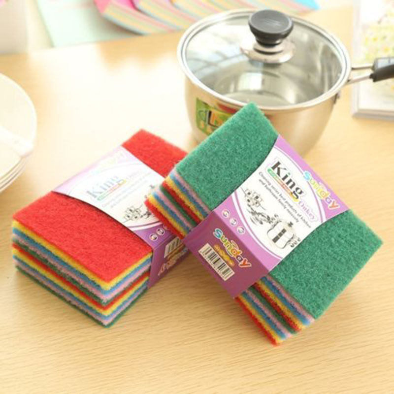 10PC Magic Sponge Eraser Cleaning Towel Cloth Kitchen Dish Foam Pads Cleaner  Hot  587-in Sponges   Scouring Pads from Home   Garden on Aliexpress.com ... 5aaae7236d97d