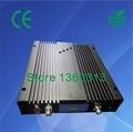 30dbm 85dB 4500 sq. m cobertura repetidor de banda tripla/reforço de sinal