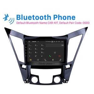 Image 3 - Seicane 9 인치 안 드 로이드 10.0 자동차 라디오 블루투스 4G WiFi 멀티미디어 플레이어 2011 2012 2013 2014 2015 현대 소나타 i40 i45