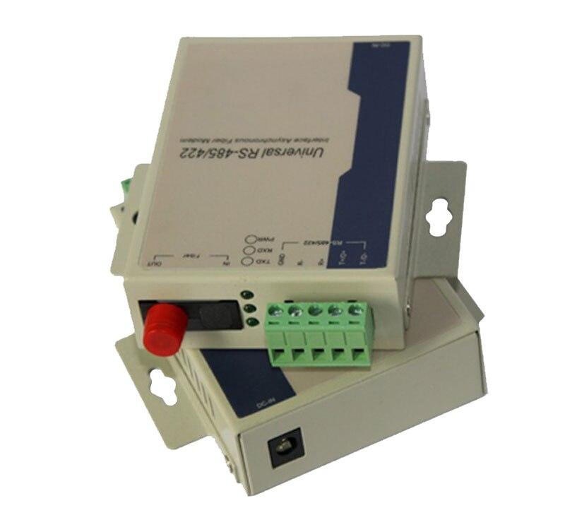 Jyttek Bidirectional RS485 Data Over Fiber Optic Converter Extender FC S/M