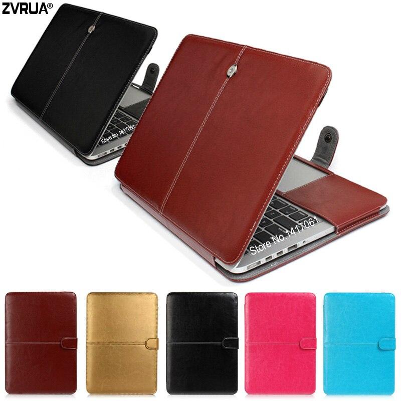 31761070858 ZVRUA PU Leather Laptop Case bag For Apple Macbook Pro Air Retina 11 12 13  15