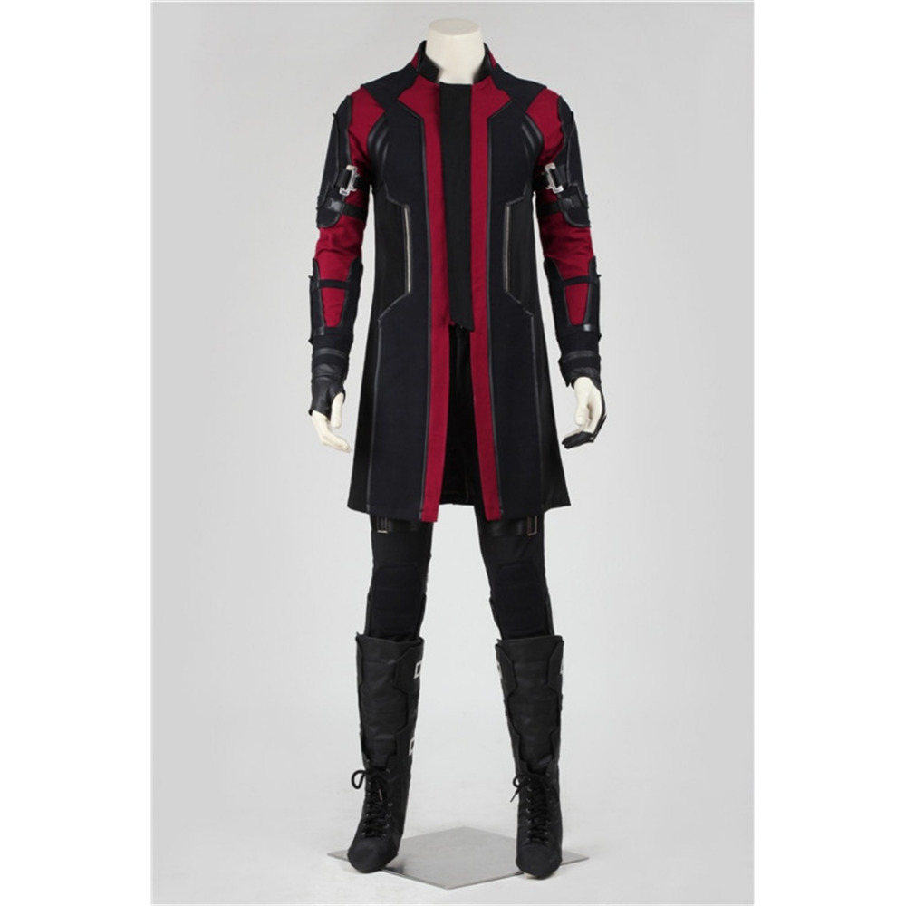 Hawkeye Cosplay The Avengers: L'âge de Ultron Hawkeye Cosplay Costume Adulte Halloween Carnaval Costume Cosplay