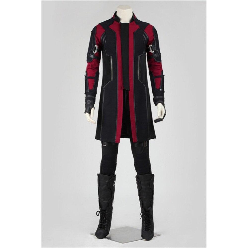 Hawkeye Cosplay The Avengers: L'âge de Ultron Hawkeye Cosplay Costume Adulte Halloween Carnaval Costume Cosplay