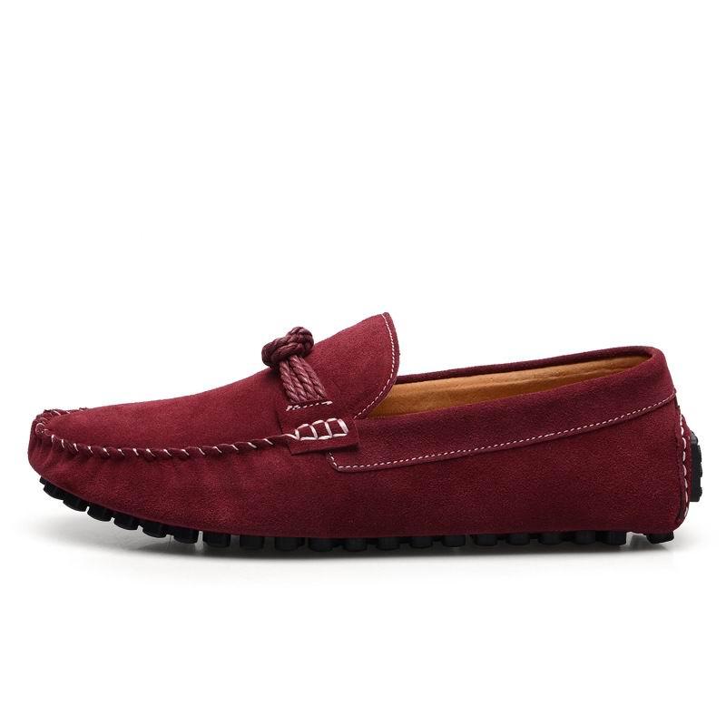 Marine Tendance De Nouvelle Homme rouge Rouge Loisirs 44 Arrivée Slip jaune Jaune Casual Chaussures Daim Mocassins Mode Noir Errfc Hommes Sur Nubuck Mocassin bleu vN0m8nw
