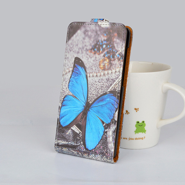 Fashion Printing Flip PU Leather Case For Samsung Galaxy Trend Lite S7392 S7390 GT-S7392 GT-S7390 Cover Flip Vertical Phone Bag