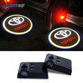 2x Car Door Logo Warning Light For Toyota Corolla Avensis Yaris Rav4 Auris Prius Hilux Celica Camry 40 Prado 120 Fortuner Verso