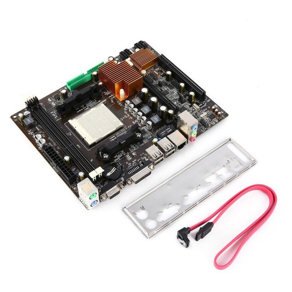 Classic A78AM3+ Computer Motherboard 5X Protection II Anti-surge USB 2.0 Data Transmission DIGI+ Digital Power Control
