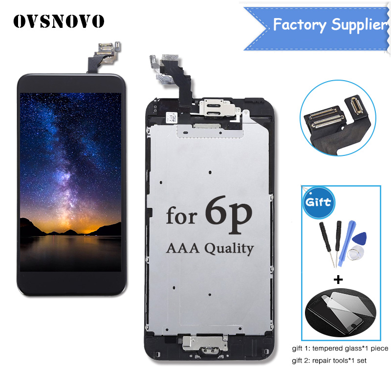 High Quality For iPhone 6 6G 4.7 Screen for iphone 6 Plus 5.5 Full Lcd Display Touch Screen Digitizer Sensor Assembly Complete