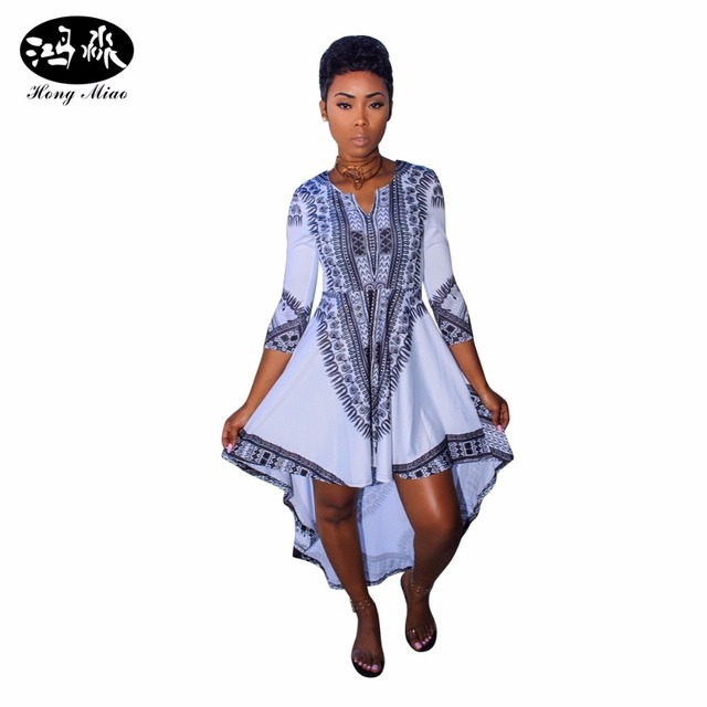 hongmiao 2017 new fashion plus size african dresses for women