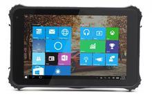 Оригинальные окна 10 ШТ. 8 «прочный планшетный ip67 водонепроницаемый телефон 2 Г RAM GPS Считыватель Отпечатков Пальцев 1D 2D сканер штрих-кода Android 4.4
