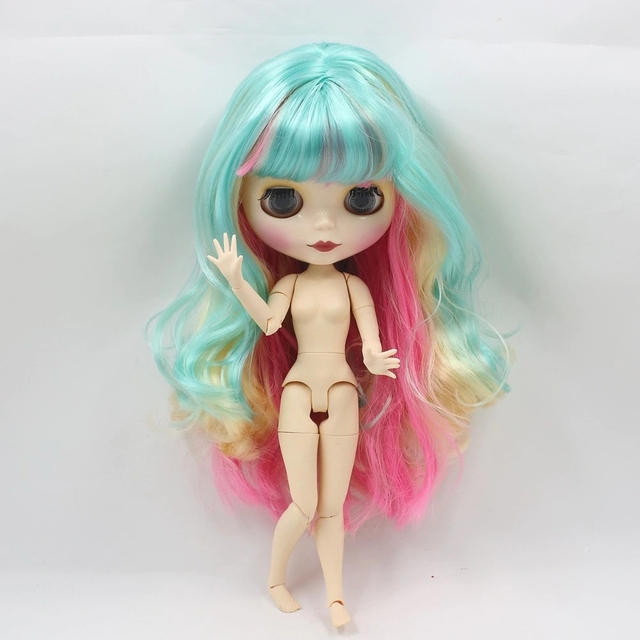 TBL Neo Blythe Dolls Colorful Hair Jointed Body