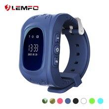 Купить Lemfo детские часы sos-вызов Q50 дети Часы GPS трек часы расположение трекер умные часы для детей для мальчиков для девочек часы детские с gps и с сим картой на русском смарт часы детские