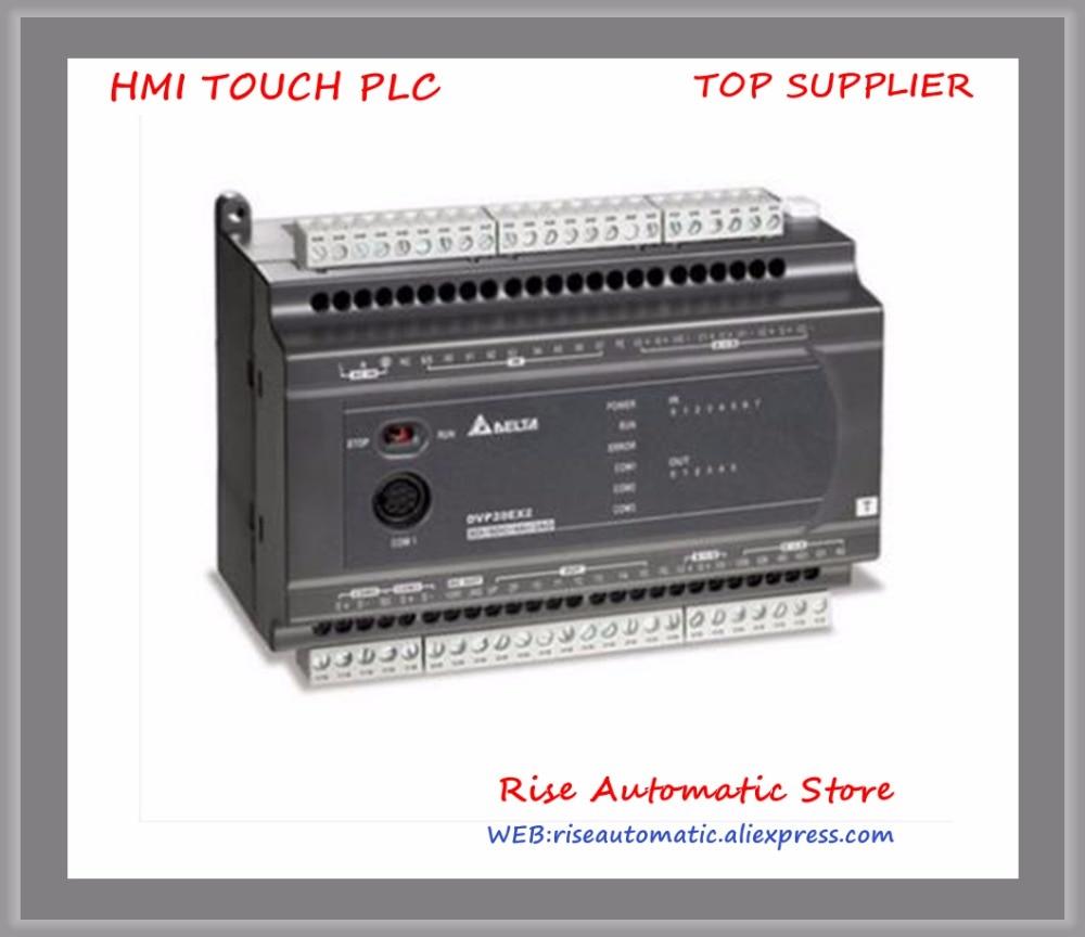 DVP32XP200T New Original PLC Digital module ES2 series 100-240VAC 16DI 16DO Transistor output new original dvp16xn211r plc digital module es2 series 24vdc 16do relay output
