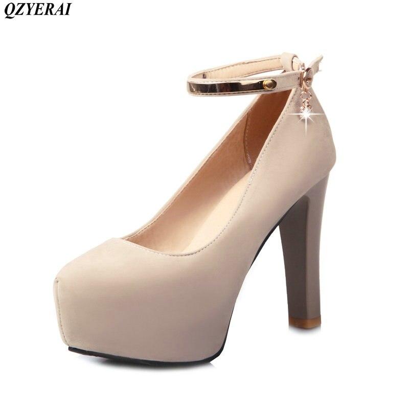 Étanche noir Simples Femmes 2018 Beige Le Talon Intérieure Nouveau Sangle Haute Merchandiser Chaussures Printemps De rouge Simple Plate forme Rugueux Style CHv1wxgqH