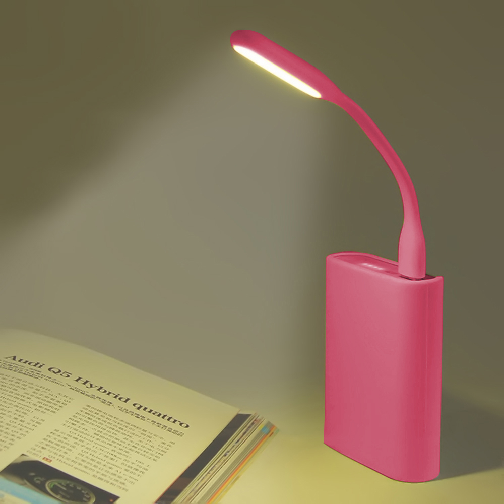 Multicolor Mini Car-styling Reading Lamp USB LED Light Computer Lamp for Notebook PC Laptop Reading Night Silica Gel 26