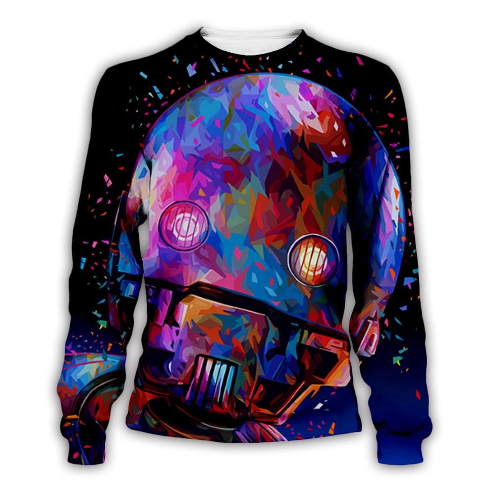 Men/Women painting 3D Print Hoodies Star Wars Alessandro Pautasso Art portrait Graffiti Sweatshirts punk pullover tee shirts
