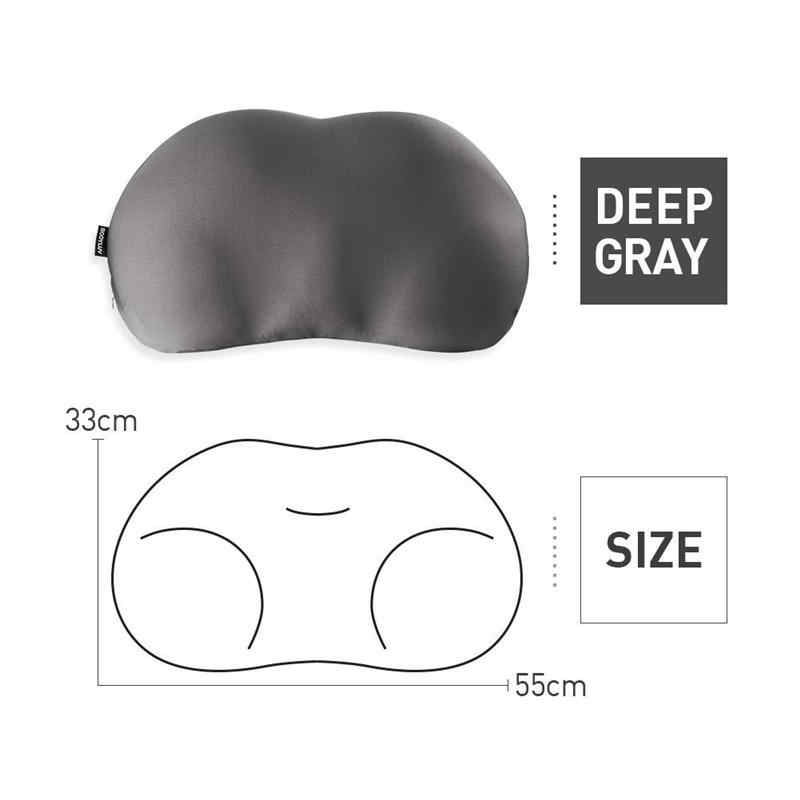 Creative Deep Sleep Addiction 3D Washable Micro Airballs Filling Travel Pillow