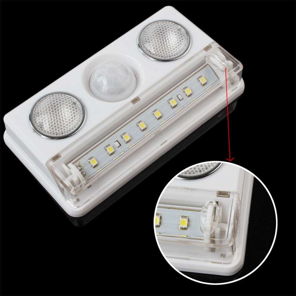 Hot Sale Rechargeable Led Pir Sensor Motion Detector