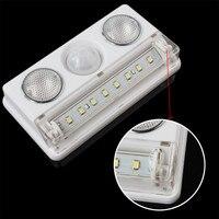 Rechargeable LED PIR Sensor Motion Detector Wireless LED Night Light Lamp Indoor Lighting USB Charging Powered