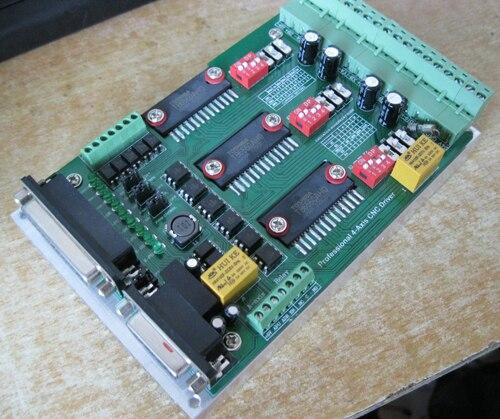 CNC machine de gravure panneau de commande 3 un trois-axe d'entraînement ceinture radiateur TB6560 plaque machine de gravure lecteurs