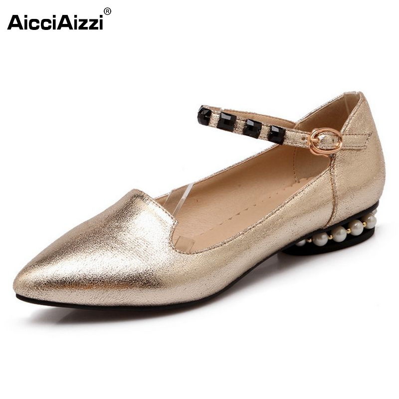 ladies leisure casual flats shoes pointed toe spring lady loafers sexy women brand footwear shoes size 32-43 P17206 new brand spring pointed toe ladies shoes fashion snake style women flats casual leather shoes woman big size 34 43