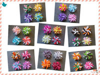 Wholesales Free Shipping New Style 32pcs BLESSING Happy Girl Hair Accessories 2 5 Inch Corker Hair