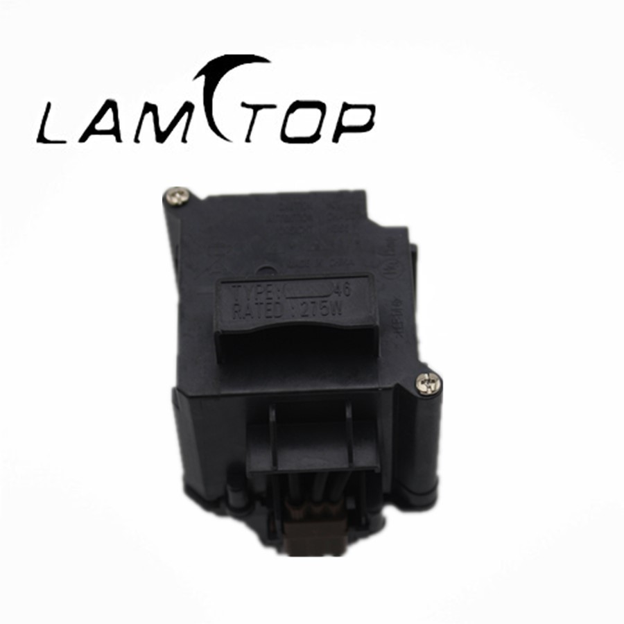 LAMTOP  projector lamp  with housing/cage  ELPLP46 for  G5300 lamtop projector lamp with housing cage 317 2531 for 1210s