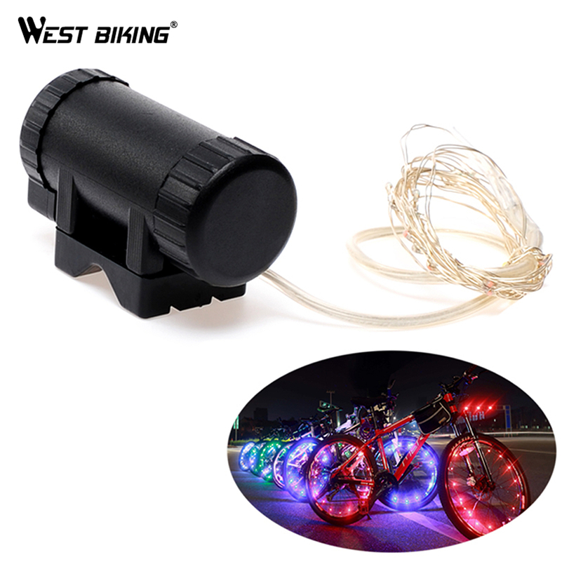 WEST BIKING Mountain Bikes Bicycle LED Wheel Spoke Lights USB Charging Waterproof Hot Wheels 2.2M Bicicleta Axle Cycling Lights туфли nine west nwomaja 2015 1590
