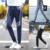 Estilo de la moda Otoño hombres Joggers Pantalones de La Raya de Ropa Deportiva Pantalones Pies Pantalones de Hombre de Color Hip Hop Activo Pantalones Más El Tamaño 4XL5XL