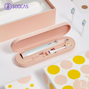 Image 5 - Soocas X5 spazzolino elettrico sonico USB ricaricabile aggiornato adulto IPX7 spazzolino da denti Ultra sonico 12 modalità pulite con testine