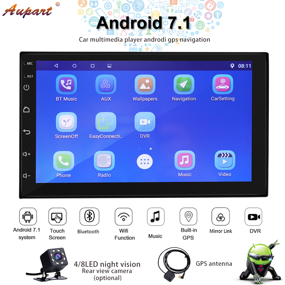 Navigation 2 din car radio gps android double din radio car stereo better than dvd cassette