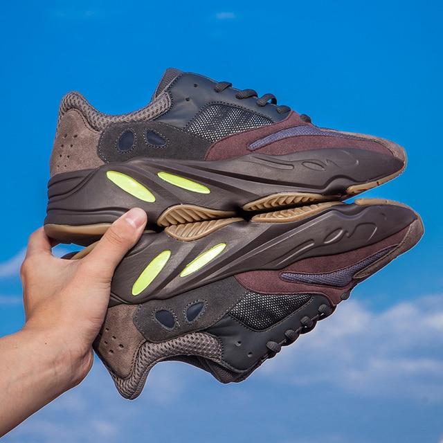 a308b4dd4aa3f 2019 YEEZYS AIR 500 V2 350V2 Men Sneakers Women Running Sport Shoes 700  boost 350 Wave Runner