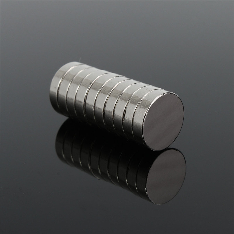 10pcs/lot N35 Round Magnets Disc Rare Earth Neodymium Magnets Strong Fridge Craft Model Permanent Magnet 12 x 3mm greeting word style fridge magnets 4 pack