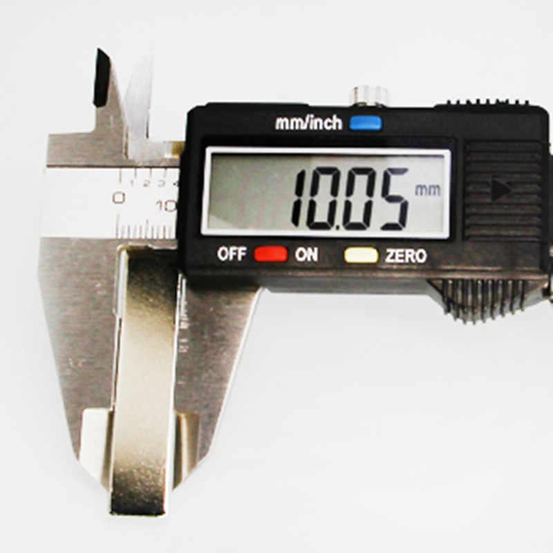 5 Buah 50 Mm X 10 Mm X 2 Mm Kuat Kuat Blok Persegi Magnet Model Kerajinan Langka Bumi 50*10*2 Neodymium Magnet Permanen 50X10X2